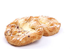 Vanilla cream danish Royalty Free Stock Photos