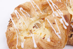 Vanilla cream danish Stock Image