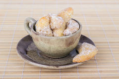 Vanilla crescents Royalty Free Stock Images
