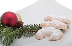 Vanilla Croissant Royalty Free Stock Image