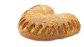 Vanilla croissant Royalty Free Stock Images
