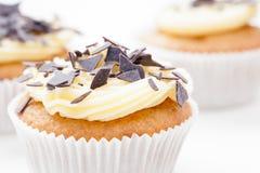 Vanilla Cupcake Royalty Free Stock Image