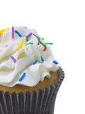 Vanilla cupcake Royalty Free Stock Photos