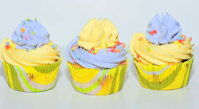 Vanilla cupcakes Royalty Free Stock Photography
