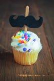 Vanilla cupcakes Royalty Free Stock Images