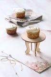 Vanilla Cupcakes Stock Image
