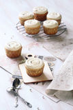 Vanilla Cupcakes Stock Photography