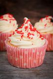Vanilla cupcakes Royalty Free Stock Photo