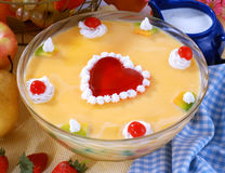 Vanilla Custard Stock Image