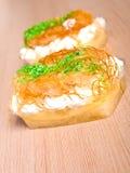 Vanilla  dessert Stock Photo