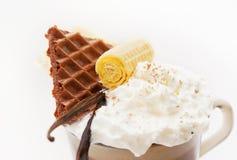 Vanilla dessert Royalty Free Stock Image
