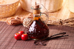 Vanilla extract Stock Images