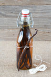 Vanilla extract Royalty Free Stock Photos