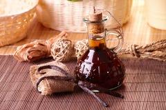 Free Vanilla Extract And Beans Royalty Free Stock Photo - 17828325