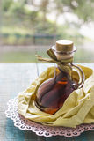Vanilla extract Stock Photo