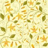 Vanilla. Floral background. royalty free illustration