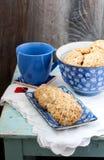 Vanilla-glazed apple cookies Royalty Free Stock Images