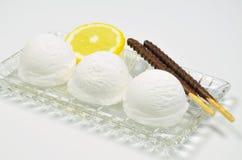 Vanilla Ice com limão Imagens de Stock