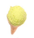 Vanilla ice cream Royalty Free Stock Photo