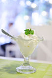 Vanilla ice-cream Royalty Free Stock Images