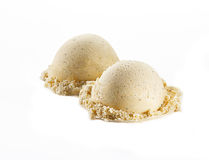 Vanilla ice cream Royalty Free Stock Photo