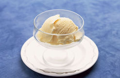 Vanilla ice cream Royalty Free Stock Images