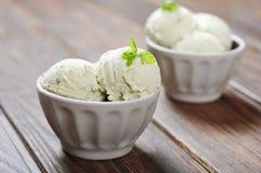 Vanilla ice cream Royalty Free Stock Images