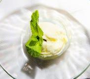 Vanilla ice cream Royalty Free Stock Photography