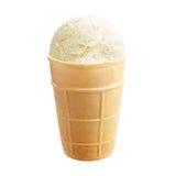 Vanilla ice cream stock images