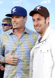 Vanilla Ice und Adam Sandler Stockfotos