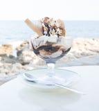 Vanilla icecream Stock Photography
