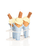 Vanilla Ices Royalty Free Stock Image