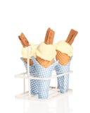 Vanilla Ices Royalty Free Stock Image
