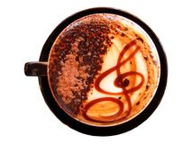 Vanilla Latte Royalty Free Stock Photos