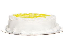 Vanilla lemon cake Stock Photography