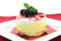 Vanilla-lemon dessert Royalty Free Stock Images