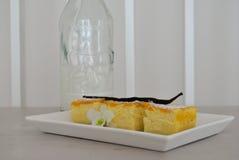 Vanilla magic cake Royalty Free Stock Photo