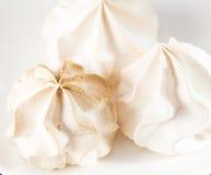Vanilla Meringue Royalty Free Stock Photography