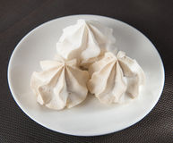 Vanilla Meringue royalty free stock image