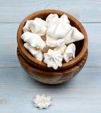 Vanilla Meringues Cakes Royalty Free Stock Photo