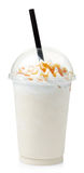 Vanilla milkshake Stock Image