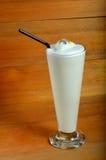 Vanilla milkshake drink Stock Photo