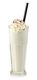 Vanilla milkshake Royalty Free Stock Photography