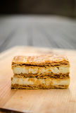 Vanilla millefeuilles Royalty Free Stock Photography