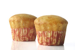 Vanilla Muffin Royalty Free Stock Images