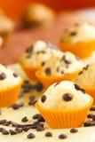 Vanilla muffins stock image