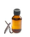 Vanilla oil Royalty Free Stock Photo