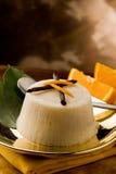 Vanilla Orange Pudding Royalty Free Stock Photo