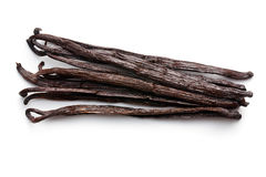 Vanilla pods Royalty Free Stock Image
