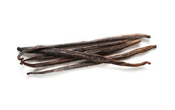 Vanilla pods Royalty Free Stock Photos